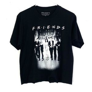NWT Friends 1990s Graphic Boxy Cropped Remake Tee